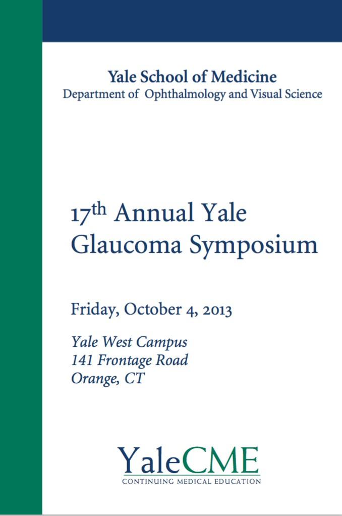 Simposio Anual de Glaucoma - Universidad de Yale