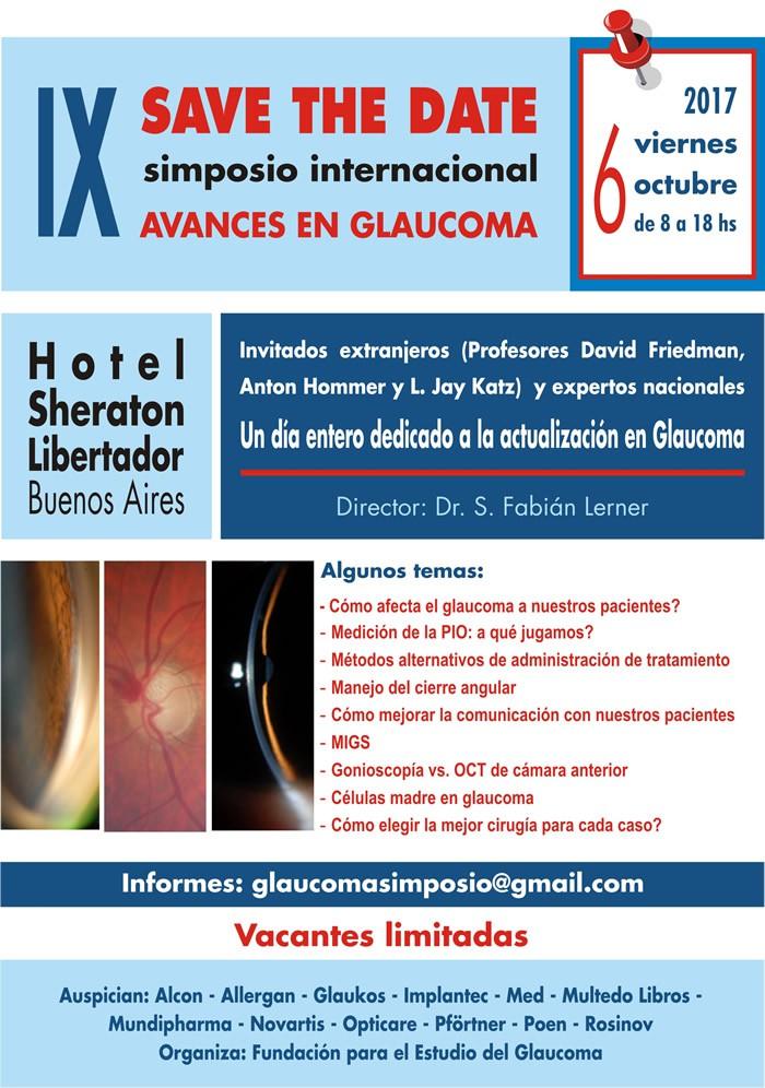 Simposio Internacional Avances en Glaucoma